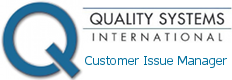 QSI GmbH Customer Issue Manager